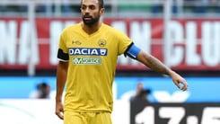 Serie A Udinese, out Danilo: recupera Perica
