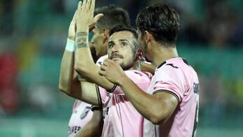 Serie B, Palermo-Pro Vercelli 2-1: decisivo Nestorovski