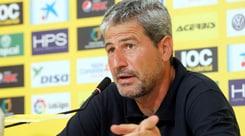 Las Palmas, si dimette il tecnico Manolo Marquez