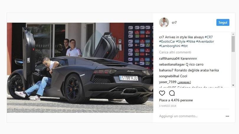 Le supercar dei calciatori, da CR7, a Balo e Neymar