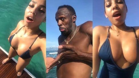 """Usain Bolt, bella vita da """"pensionato"""" con la fidanzata Kasi"""