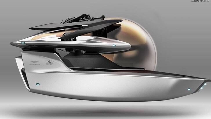 Neptune, il sommergibile di lusso firmato Aston Martin