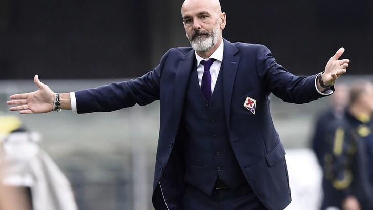 Serie A Fiorentina, Pioli: «Dateci tempo, dobbiamo ancora crescere»