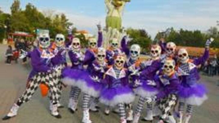 Cagnotto e Dallapè madrine a Gardaland Magic Halloween