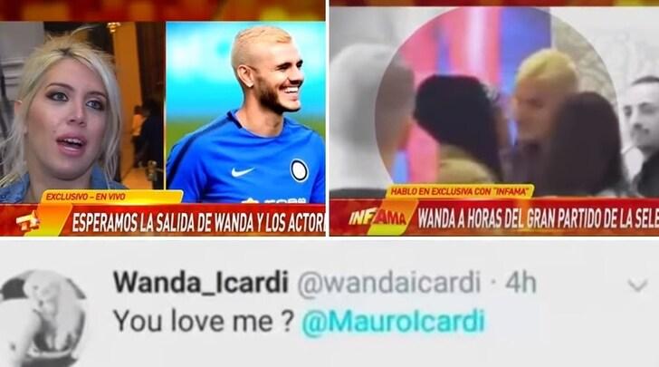 Wanda Nara-Icardi, è crisi? In Argentina impazza il gossip