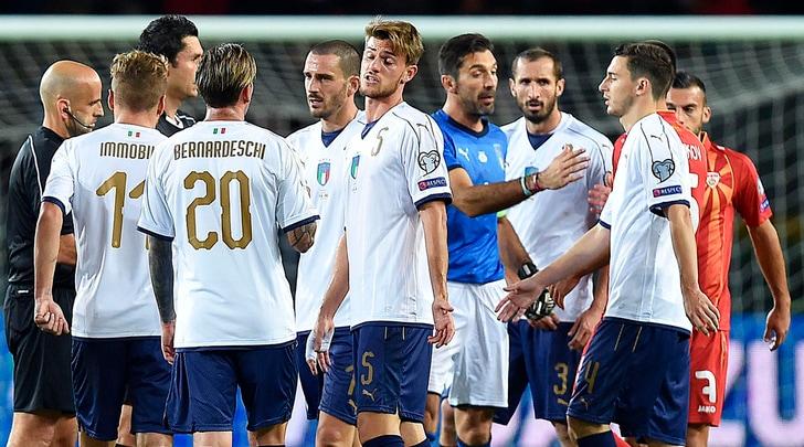 Italia, faccia a faccia nello spogliatoio: Ventura non è presente