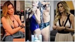 Aida Yespica, continua lo show: sexy bikini nella casa del Grande Fratello Vip