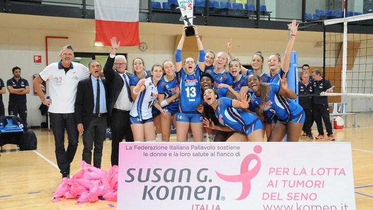 Al Centro Pavesi FIPAV è andata in scena «Volley S3 for the Cure»