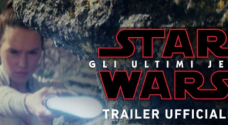 Star Wars, gli Ultimi Jedi: è uscito il trailer del nuovo film