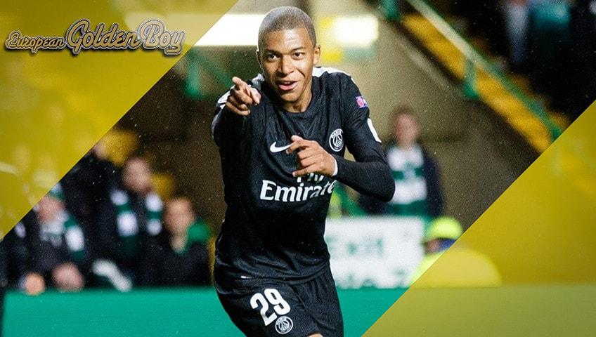 Kylian Mbappé - I candidati al Golden Boy 2017