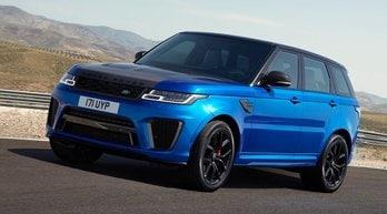 Range Rover Sport SVR, quota 575 cavalli
