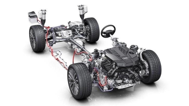 Audi A4 e A5, debutta l'ibrido leggero