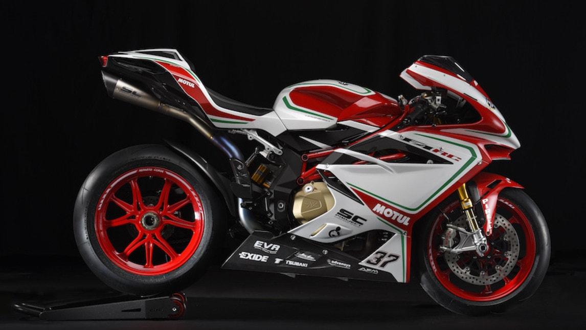 MV Agusta F4 RC, la Superbike di Camier pronta per la strada