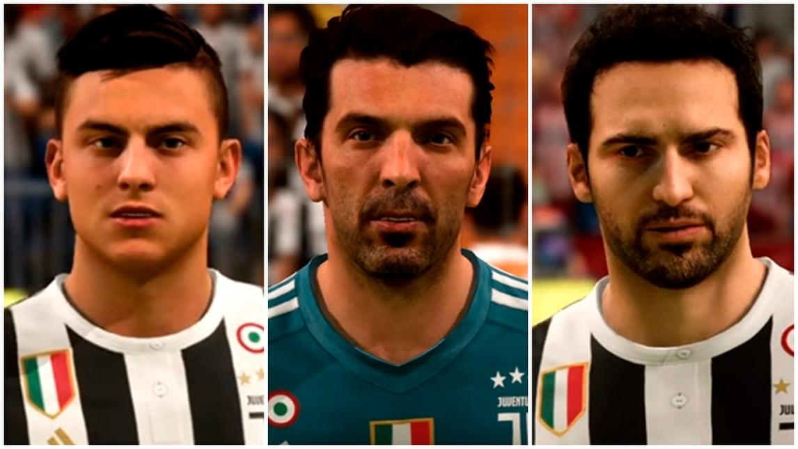 Dal reale al virtuale, ecco la Juventus in Fifa 18