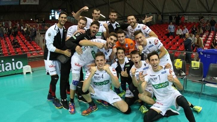 La Kioene Padova sbanca Piacenza ed elimina la Lpr dalla Coppa