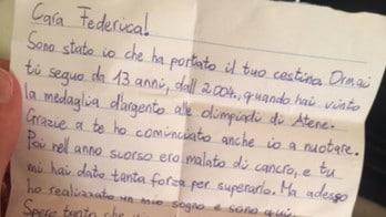 Pellegrini e la lettera di un tifoso: «Mi hai dato la forza per superare il cancro»
