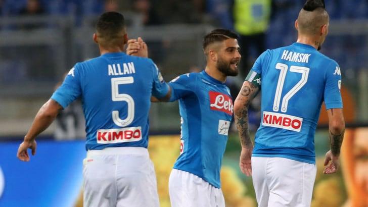 Serie A Roma-Napoli 0-1, il tabellino