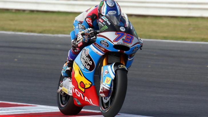 Moto2, Alex Marquez davanti a tutti
