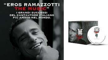 """Eros Ramazzotti the music"", in edicola con Tuttosport i grandi successi"