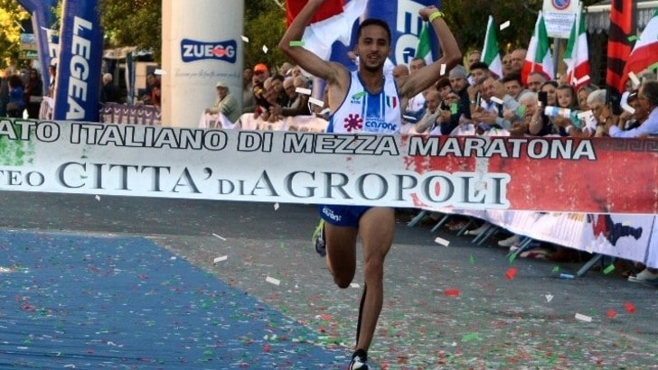 Agropoli Half Marathon incorona Rachik e Brogiato