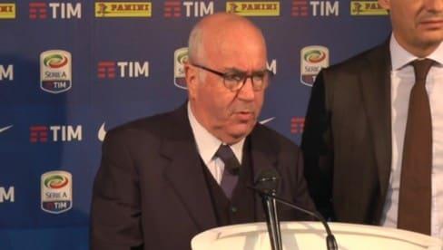 """Tavecchio: """"Ok ai quattro stage chiesti da Ventura"""""""