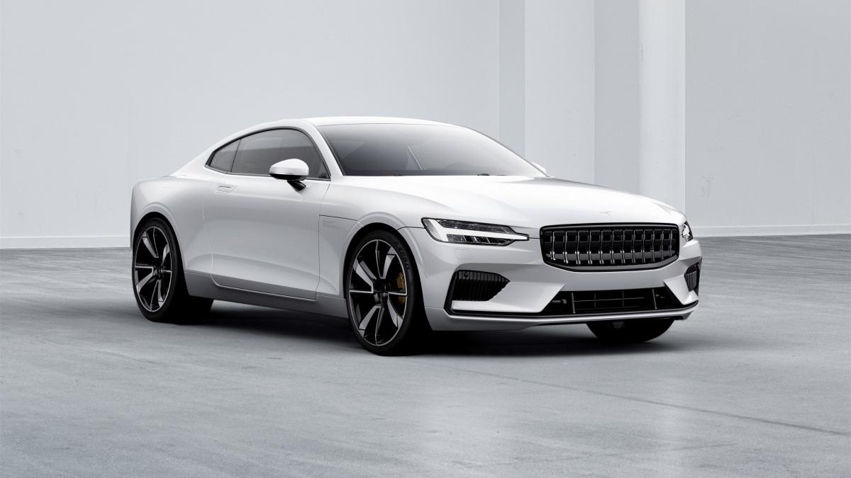 Volvo Polestar 1, dalla Cina per combattere con la Tesla