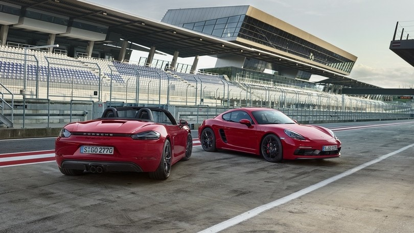 Porsche 718 Cayman e Boxster, ecco le GTS da quasi 300 km/h