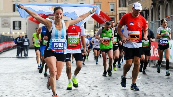 Mai così tanti iscritti dall'estero per la Maratona di Roma