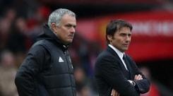 Conte, guerra a distanza con Mourinho: «Preoccupati della tua squadra»