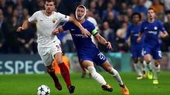 Champions League: Roma super, gli ottavi sono a 1,50
