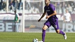 Serie A Fiorentina, Pezzella: «Simeone? E' giovane e forte»