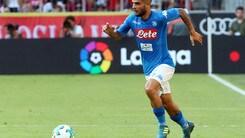 Serie A Napoli, per Insigne niente lesioni: con l'Inter può farcela
