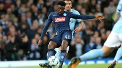 Serie A Napoli, Diawara: «Vinciamo con l'Inter e restiamo in vetta»