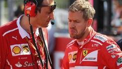 F1 Ferrari, Vettel: «Per questo weekend sono ottimista»