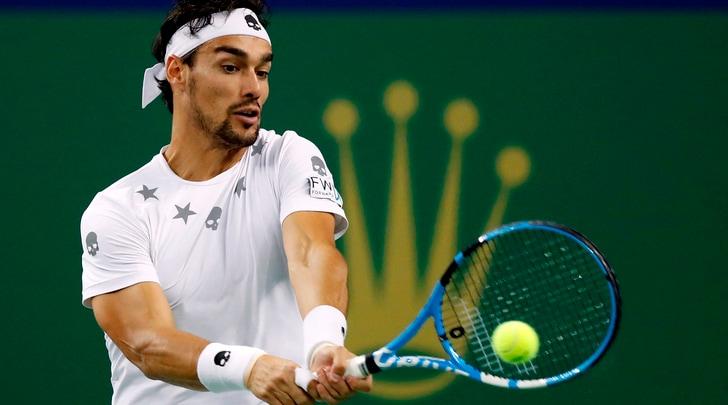 Tennis, Stoccolma: Fognini ko, niente finale