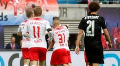Bundesliga, crisi Dortmund: 2-2 a Francoforte. Il Lipsia incalza: è secondo