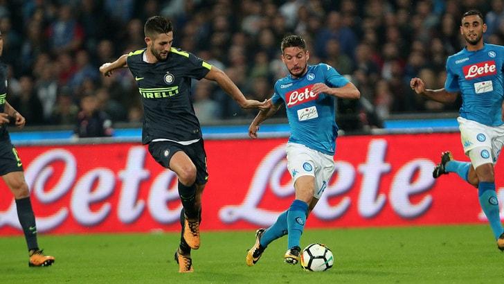 Serie A, Napoli-Inter 0-0: il tabellino
