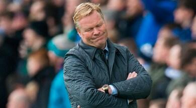 Premier League, l'Everton esonera Koeman: fatale il ko con l'Arsenal