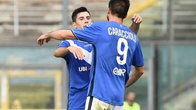 Serie B Brescia-Bari 2-1: Caracciolo piega Grosso