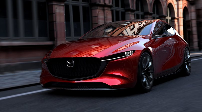 Mazda presenta il suo futuro a Tokyo con Vision Coupé e Kai Concept