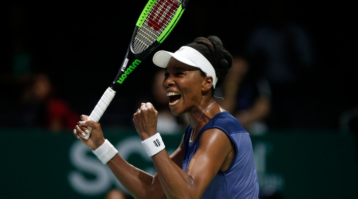 Wta Finals, Venus Williams batte la Muguruza ed è in semifinale