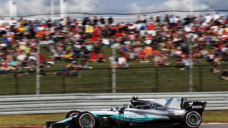F1 Messico: prime libere per Bottas, quinto a Vettel