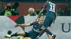 Ligue 1, Psg-Nizza 3-0: Di Maria inventa e Cavani bussa due volte, autogol di Dante
