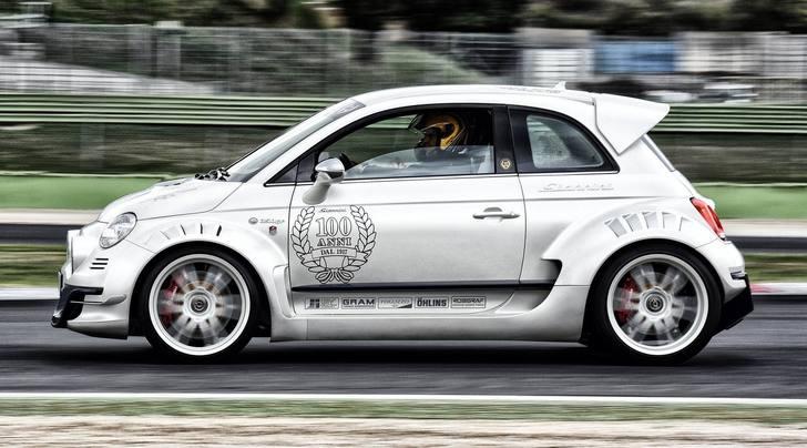 Giannini 350 GP, la Fiat 500 diventa una supercar