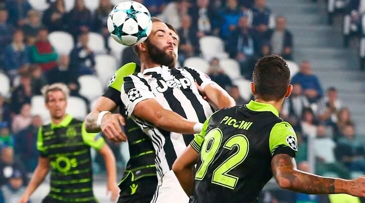 Sporting Lisbona-Juventus, a rischio William Carvalho