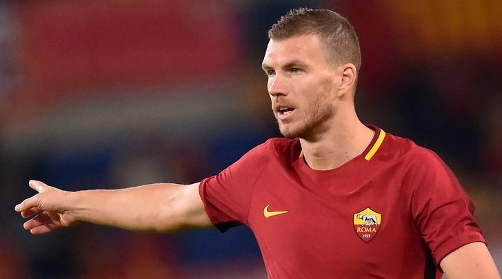 Dzeko: «Juve favorita, ma voglio portare lo scudetto a Roma»