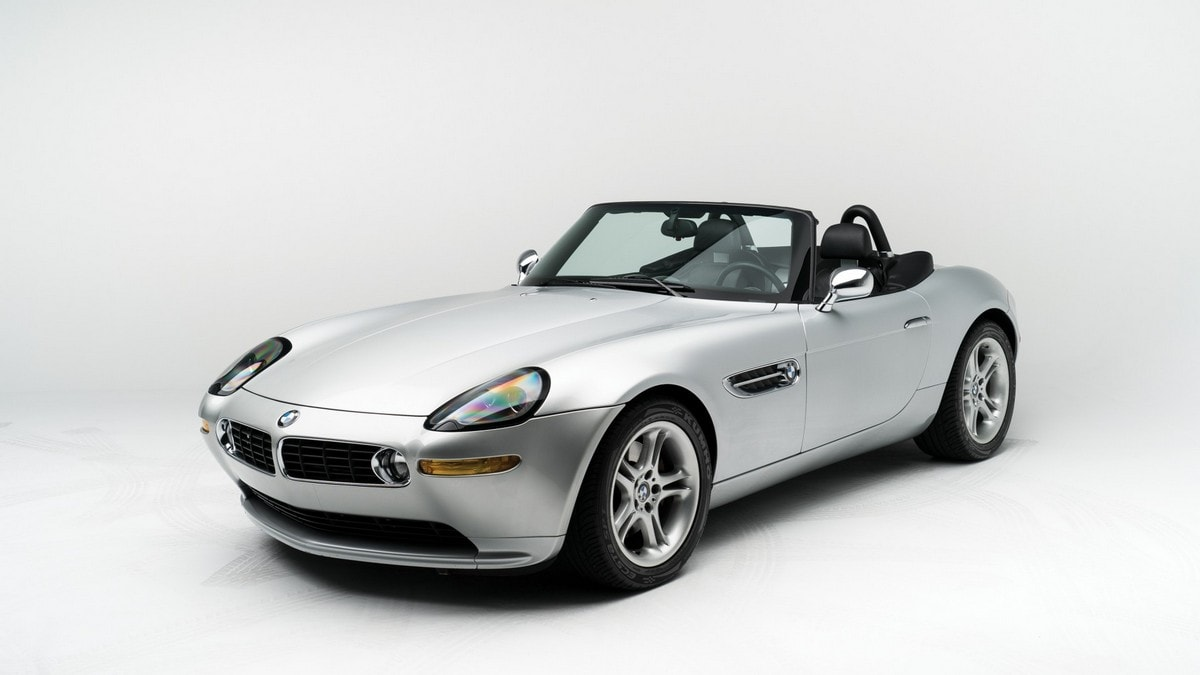 La BMW Z8, di Steve Jobs andrà all'asta a New York