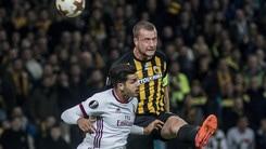 Europa League, Aek Atene-Milan 0-0: il tabellino