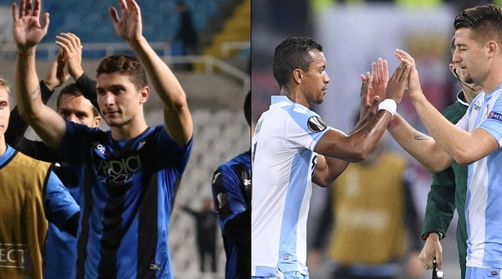 Europa League, Lazio-Nizza 1-0. Apollon-Atalanta 1-1: biancocelesti qualificati