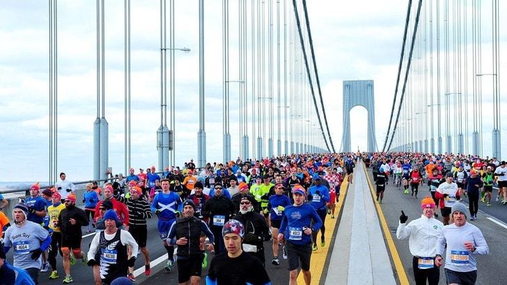 3000 italiani alla Maratona di New York, la nazione più numerosa